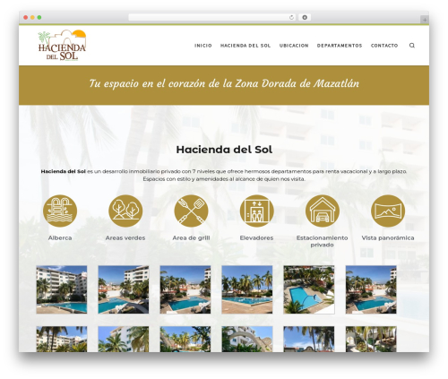Customizr free WP theme - haciendadelsolmazatlan.com