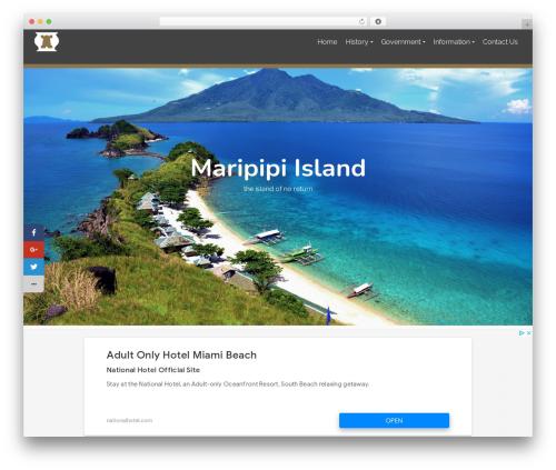 Pinnacle WordPress theme - maripipi.net