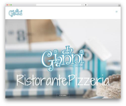 Avada WordPress template - dagianniristorante.com