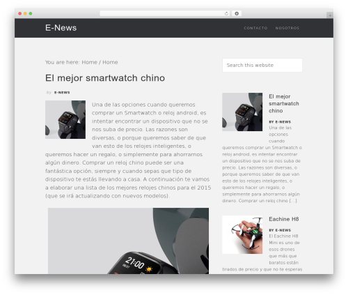 Epik Theme WordPress magazine theme - e-newsterrassa.com