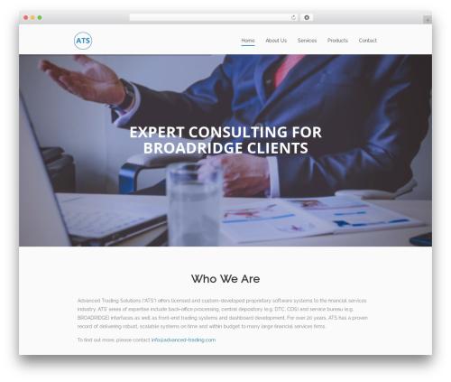 Theme WordPress Sanigo - advanced-trading.com