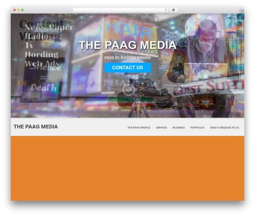 WordPress website template SKT White - paagmedia.com