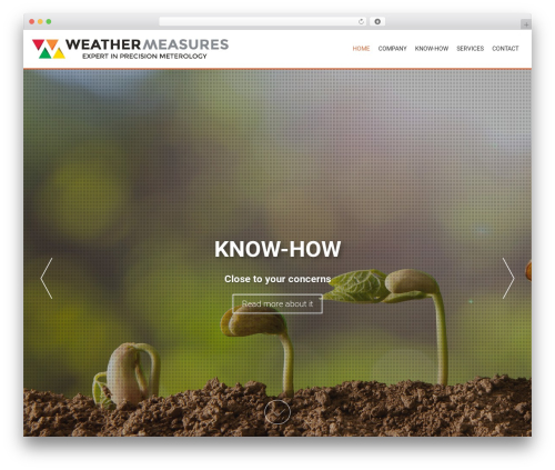 AccessPress Parallax template WordPress free - weather-measures.com