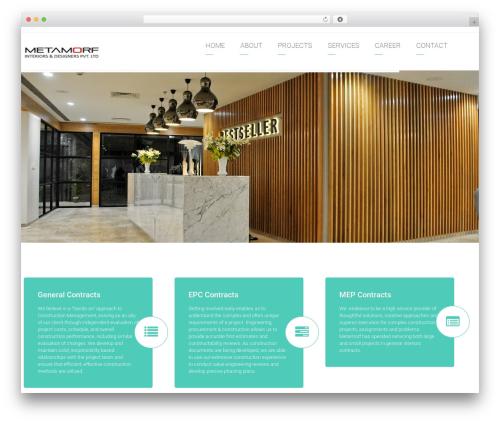 Arkitekt premium WordPress theme - metamorfindia.in