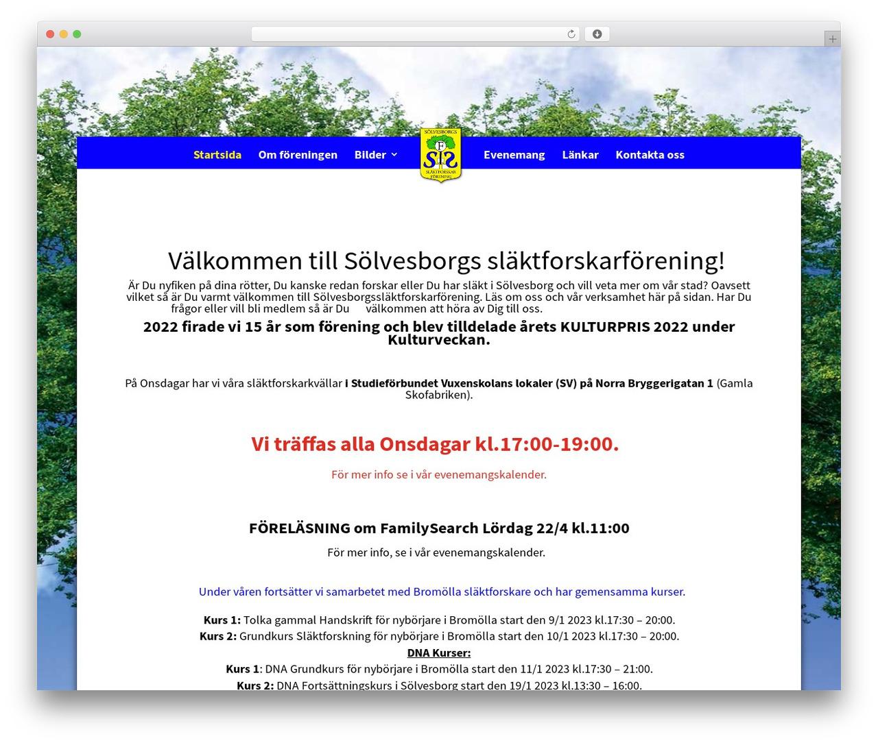 Best WordPress theme Divi - sbg-anor.se
