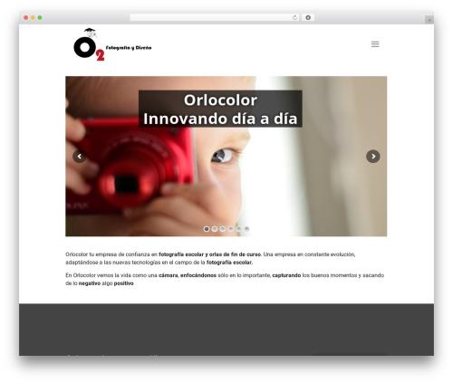 Betheme top WordPress theme - orlocolor.es