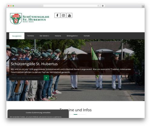 Rockers WordPress template - schuetzengilde-stenern.de