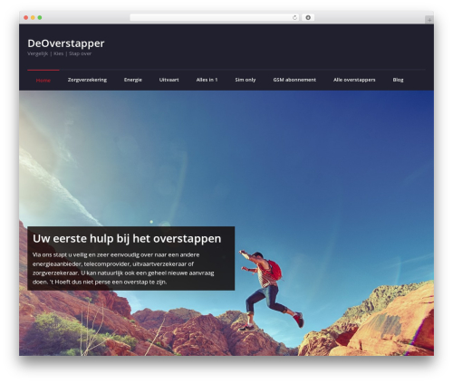WordPress template Rockers - deoverstapper.nl