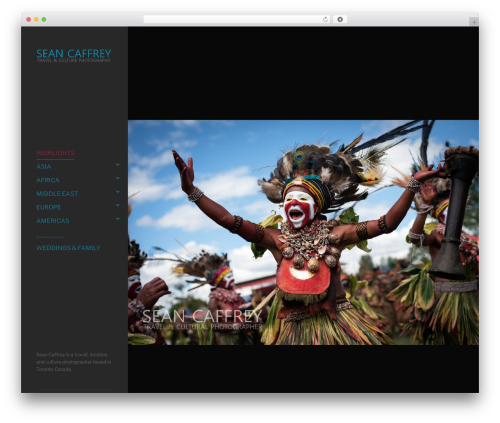 WordPress theme Rife Pro - seancaffrey.com