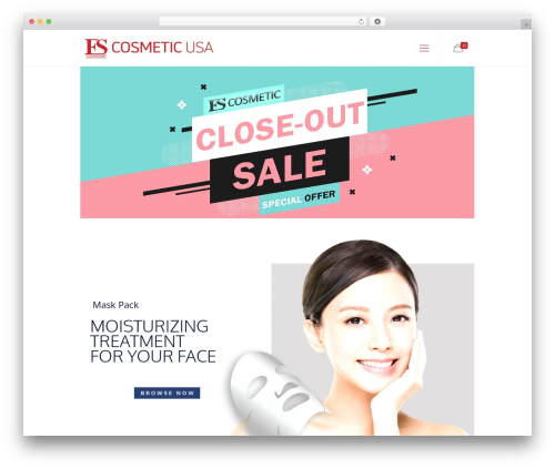 Best WordPress theme Betheme - escosmeticusa.com