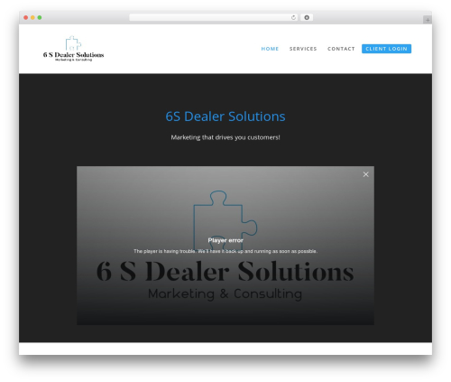 Total free WordPress theme - 6sdealersolutions.com