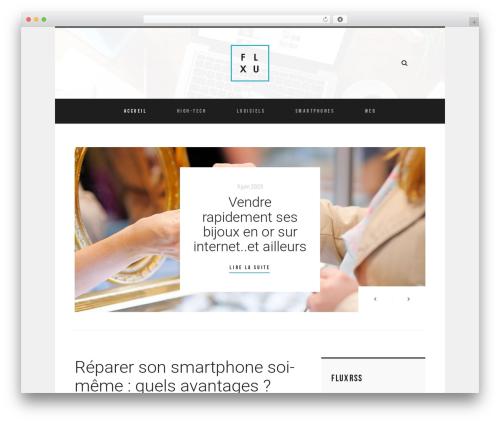WordPress theme Room - fluxrss.fr