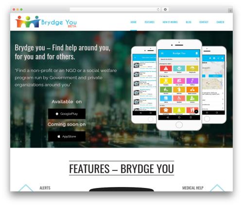 Applay WordPress theme - brydgeyou.org