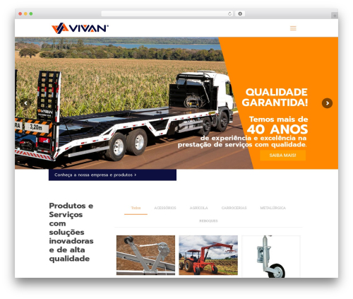 Betheme theme WordPress - vivan.ind.br