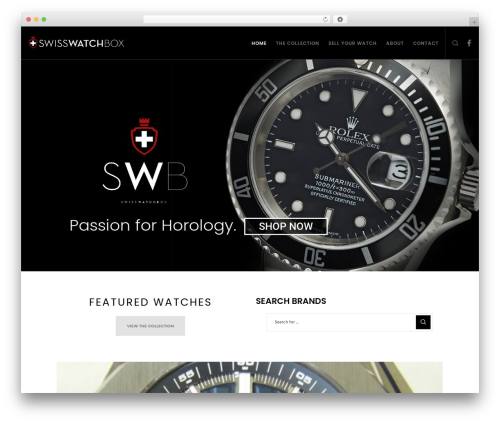 Best WordPress theme Movedo - swisswatchbox.com