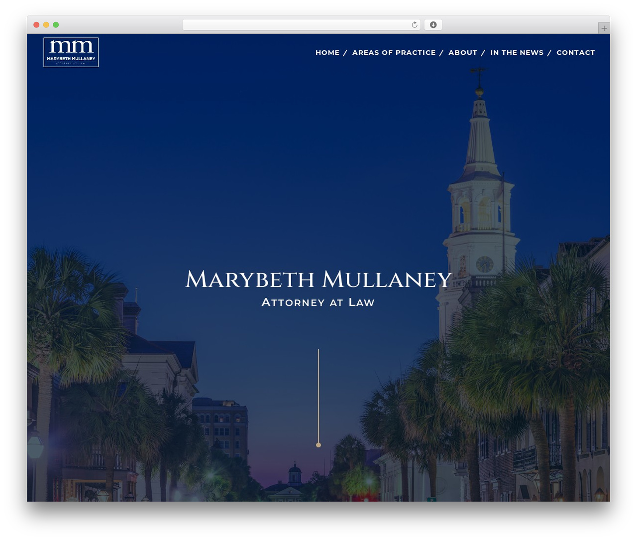 Divi WordPress theme design - mullaneylaw.net