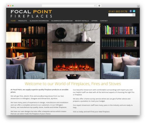Template WordPress Focal - focalpointglasgow.co.uk