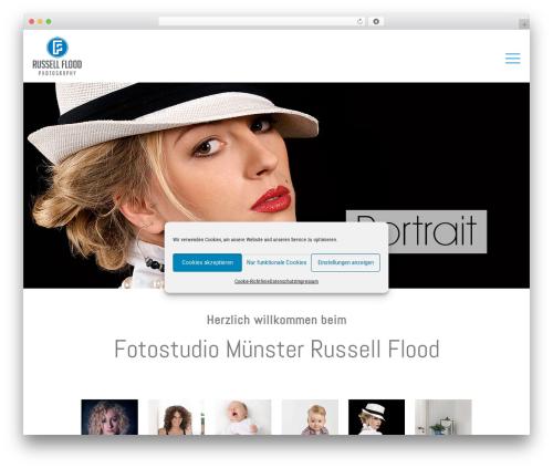 Betheme fashion WordPress theme - floodline-photography.de