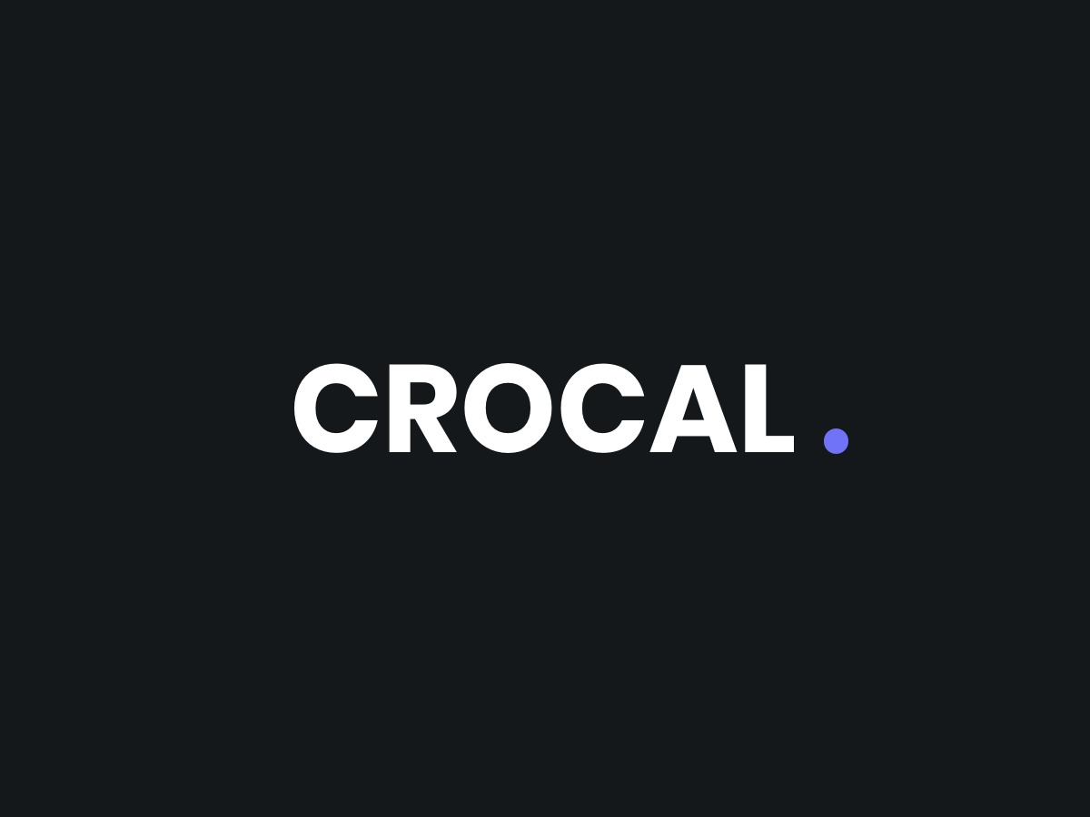 Crocal WordPress blog template