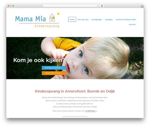 Tradent template WordPress - mamamia.nl