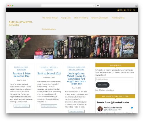 WordPress theme Di Responsive - atwaterrhodes.com