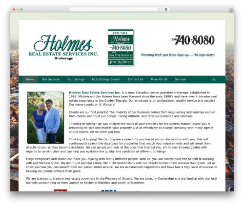 Catch Base Pro best real estate website - homesbyholmes.com