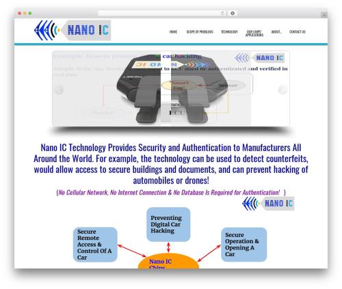 D5 Business Line Extend WordPress template for business - nano-ic.com