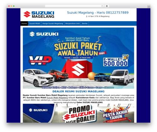 Dealer Mobil theme WordPress - suzukimagelang.com