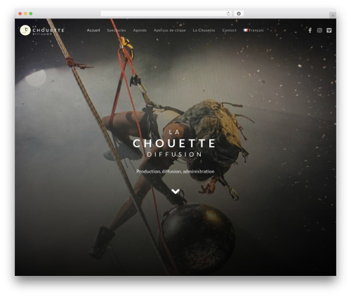 Movedo premium WordPress theme - lachouettediffusion.com