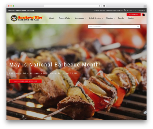 ShopIsle PRO WordPress store theme - smokenfire.com