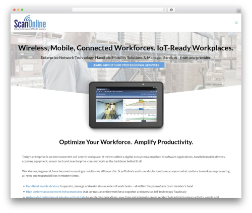 WordPress template Movedo - scanonline.com