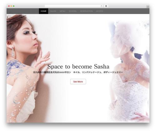 Arcade Basic template WordPress free - salon-sasha.com
