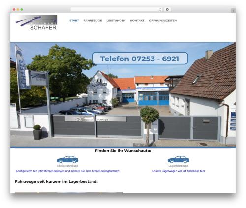 Car Dealer Ignition WP theme - schaefer-autohaus.com