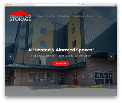 Businessx template WordPress free - heatedwoodinvillestorage.com