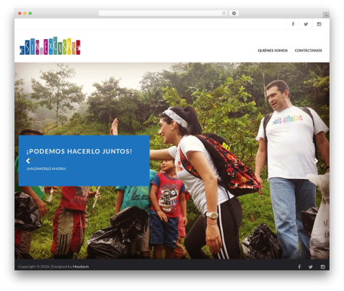 Charity Child Theme theme WordPress - fundacionsinexcusas.org