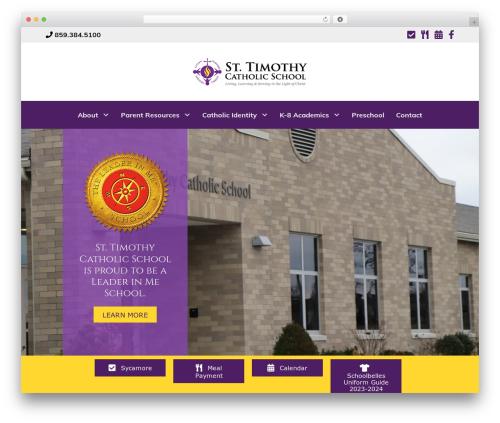 Theme WordPress Beaver Builder Theme - saint-timothy-school.org