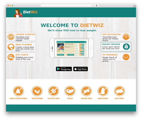 WP template Applay - dietwiz.com