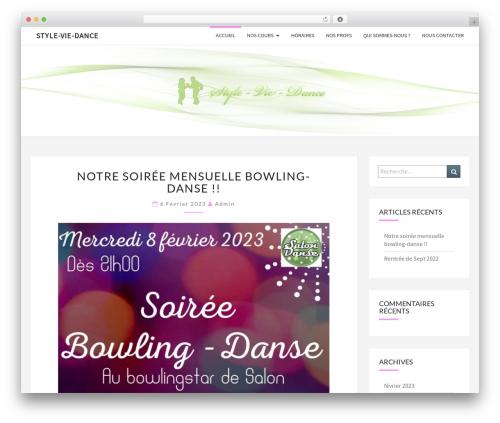 Nisarg WordPress template free - style-vie-dance.com