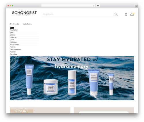 The Hanger WordPress theme design - schoen-geist.com