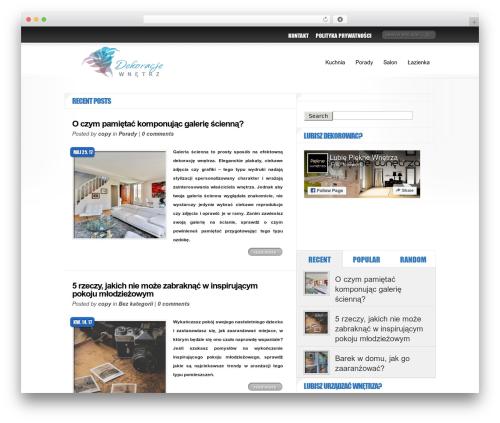 Delicate News WordPress news template - dekoracje-wnetrz.org.pl
