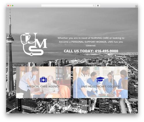 Salient WordPress theme - umsmed.ca