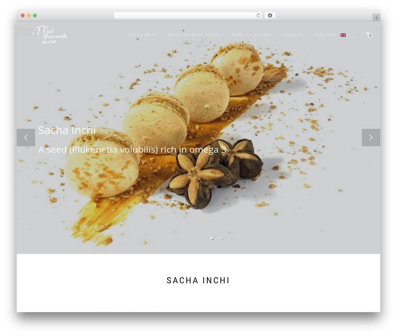 ShopIsle PRO best WordPress theme - sachainchilaos.com