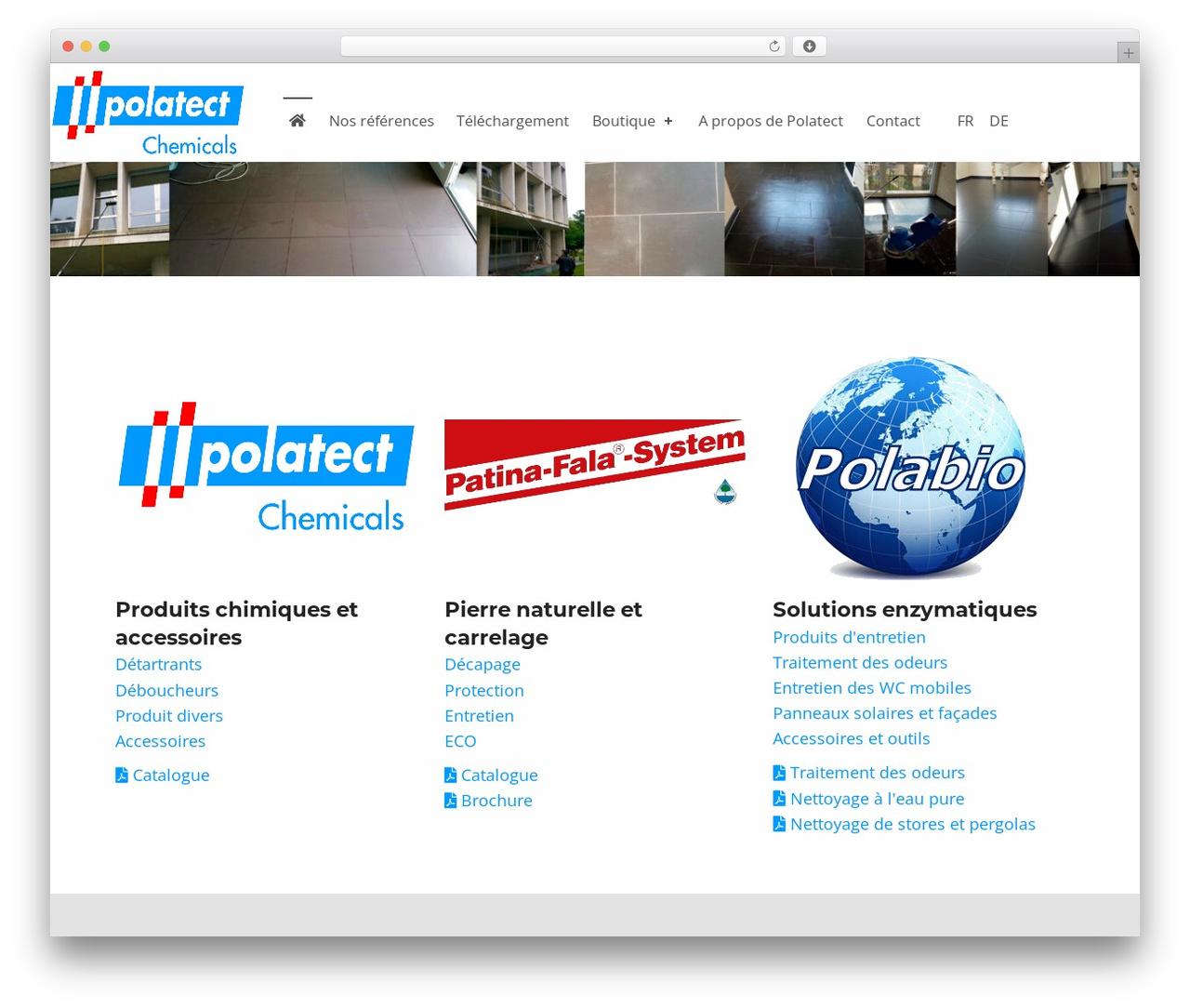 Template WordPress Polatect Child - polatect.ch