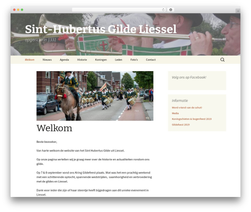 WP template Twenty Thirteen - sint-hubertusgilde.nl