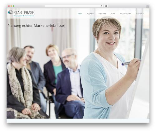Creativo Theme theme WordPress - startphase.org