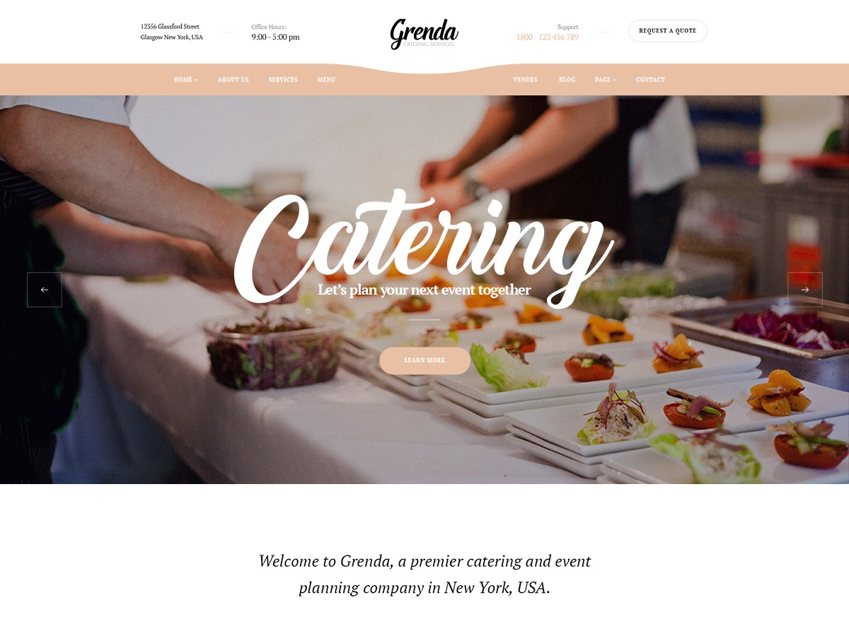 Grenda WordPress wedding theme