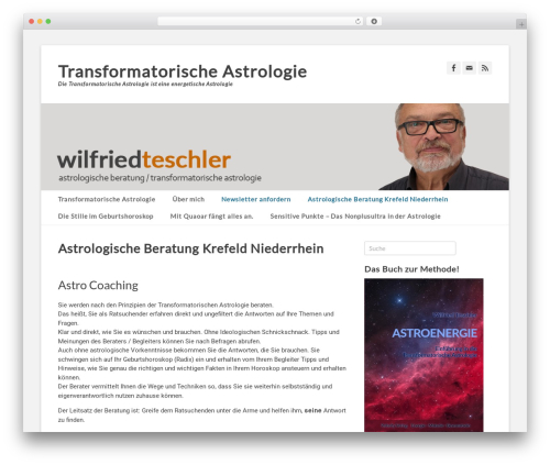 WordPress template Catch Base Pro - astroenergetik.info