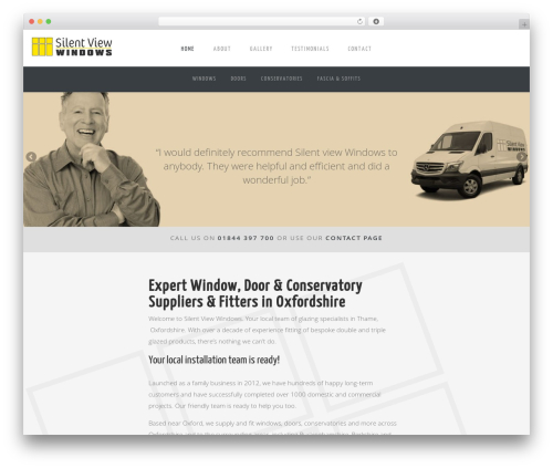 Gantry Theme for WordPress theme WordPress - silentviewwindows.co.uk