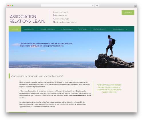 Theme BMS template WordPress - associationjean.org