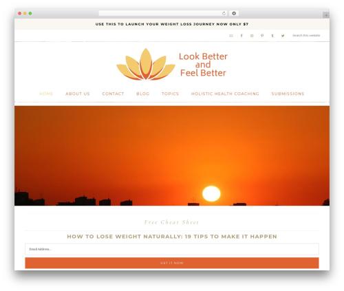 Theme WordPress Refined Theme - lookbetterandfeelbetter.com